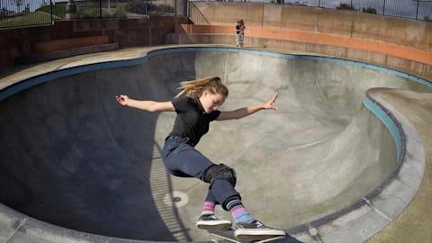 Skateboarder Brighton Zeuner Eyes Olympic Podium At Tokyo 2020