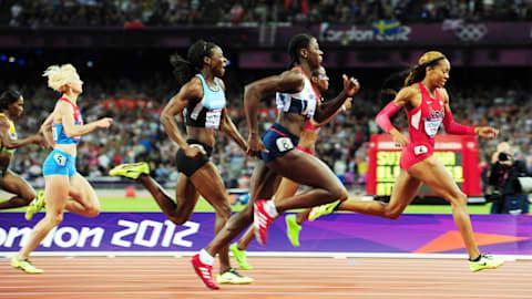리플레이: 리차즈-로스, 여자 400m 금메달 질주