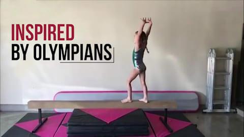 Спортивная гимнастика I Inspired by Olympians