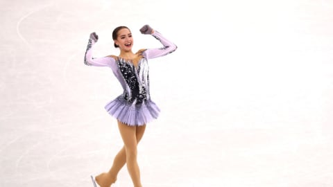 Alina Zagitova sets a new Highest Score at Pyeongchang 2018