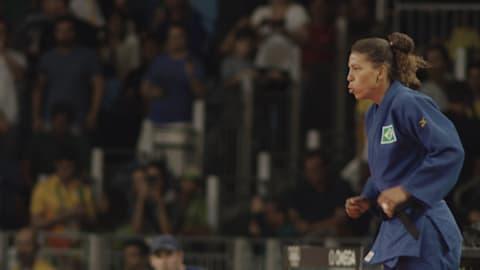 Campeona olímpica de la 'Ciudad de Dios' de Brasil ha recuperado su enfoque