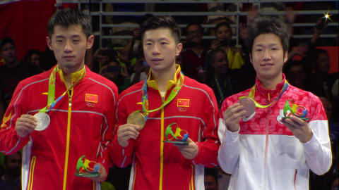 Table Tennis: Men's Gold Match | Rio 2016 Replays