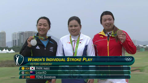Park wins women's golfing gold