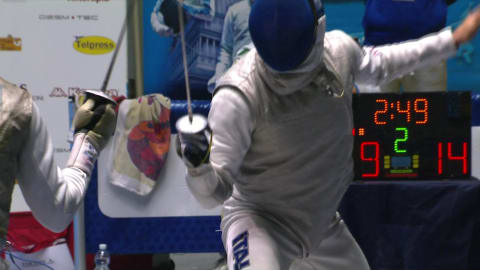 Foconi defeats Lefort to reach the Fencing Torino Grand Prix final