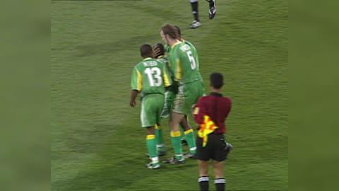 South Africa stun Brazil in Sydney football upset