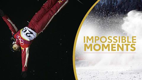 Alisa Camplin Jumps to Gold Despite Broken Ankles | Impossible Moments