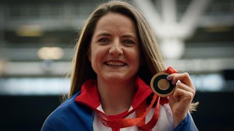 Goldie Sayers: 11 ans d'attente pour trouver la rédemption avec le bronze
