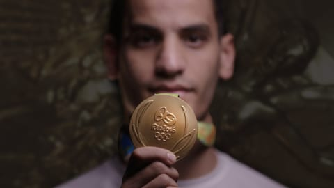 Cómo Ahmad Abughaush se convirtió en un ícono jordano