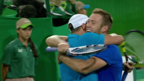 La coppia statunitense vince il bronzo nel doppio di tennis