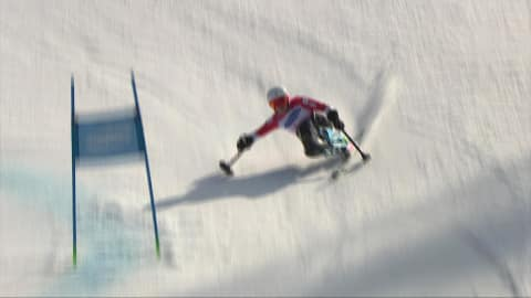 Alpine Skiing: Giant Slalom (2nd run) M All Classes | 2018 Paralympics