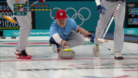 SWE v USA (Finale) - Curling (H) | Replay de PyeongChang