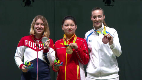 Shooting: Women's 10m Air Pistol Qual and Final | Rio 2016 Replays