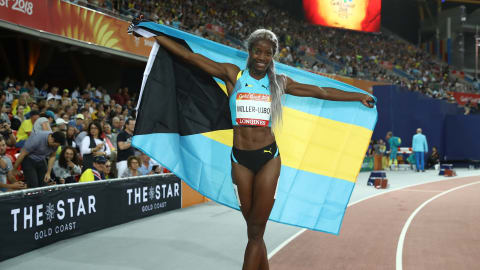 Shaunae Miller-Uibo just wants to have fun