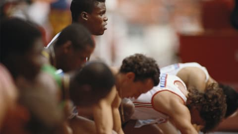 ソウル1988 - ジョンソンの失格によりルイスが100mで金を獲得