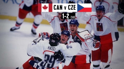 CAN v CZE (Semifinal) - Men's Icve Hockey | Nagano 1998 Replays