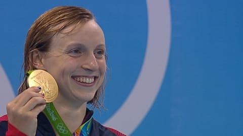 Katie Ledecky turns pro