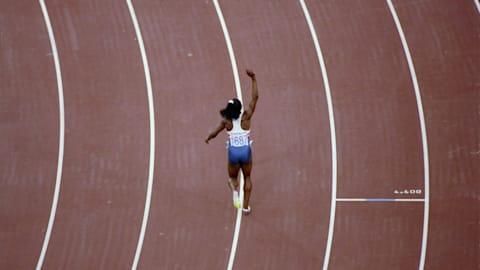 陸上競技:女子100m決勝 | バルセロナ1992