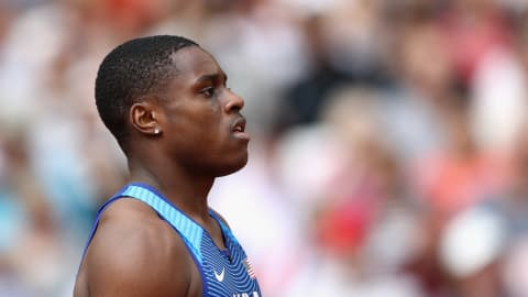 His time is now: Christian Coleman