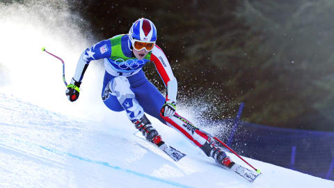 Vonn guesses whether strange terms are ski slang or a hipster band