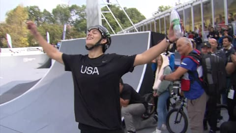 Justin Dowell claims Freestyle Park world title