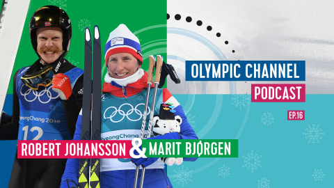 LISTEN: Olympic Channel Podcast [Ep16] with Robert Johansson and Marit Bjorgen
