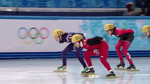 Сочи - как это было: шорт-трек, 1500 м, женщины, полуфиналы