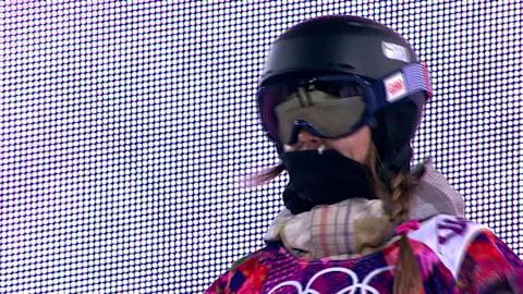 Kaitlyn Farrington's gold medal halfpipe run   Sochi 2014