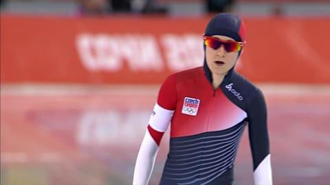 M. Sablikova (CZE), Silver Women's 3000m   Speed Skating- Sochi 2014 Replays