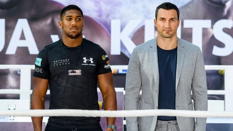 Olympic champions Joshua and Klitschko go head-to-head