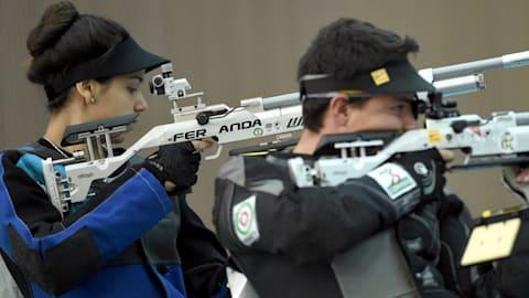 Final (E.M.) rifle aire 10m | Copa del Mundo Rifle/Pistola ISSF - Río