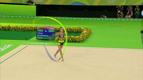 La Russie prend l'or et l'argent en gymnastique rythmique individuelle