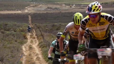 Radsport: 2018 Absa Cape Epic - Westkap, Südafrika. 3. Etappe