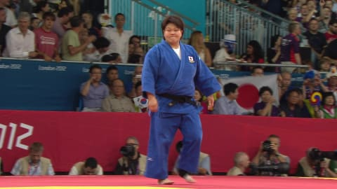 Judo @ London 2012 - Women's over 78Kg Gold medal match