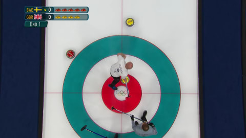 SWE v GBR (Round Robin) - Men's Curling | PyeongChang 2018 Replays