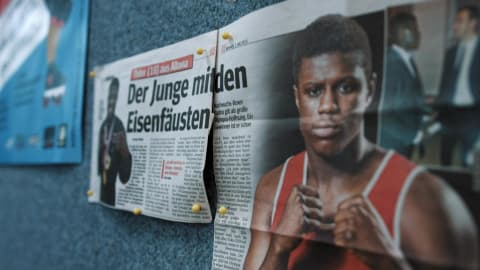 Boxing star Kadiru a 'typical' German