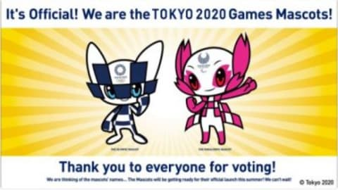 They're here! Tokyo 2020 reveals magical Olympic and Paralympic Mascots