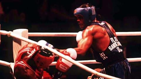Cuban Felix Savon beats Sweden's Turkson | Atlanta 1996