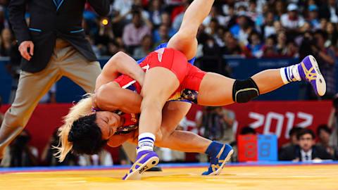 The beauty of Women's Wrestling