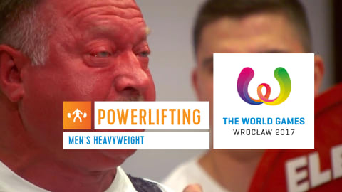 Powerlifting Masculino Peso Pesado - The World Games Wroclaw 2017