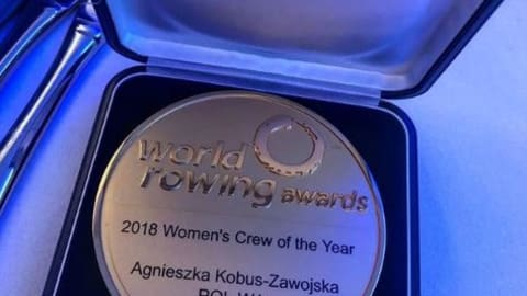 Australia and Poland shine at World Rowing Awards
