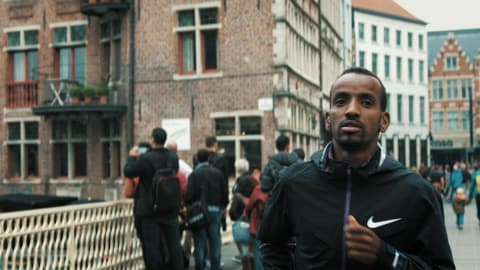 Fleeing war-torn Somalia to run for glory for Belgium