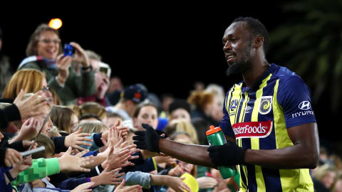 Bolt has football trial extended: