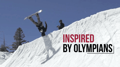 Compilation sur le Snowboard | Inspired by Olympians