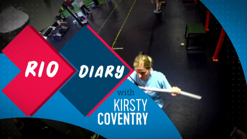Behind the scenes of Rio 2016 with Kirsty Coventry