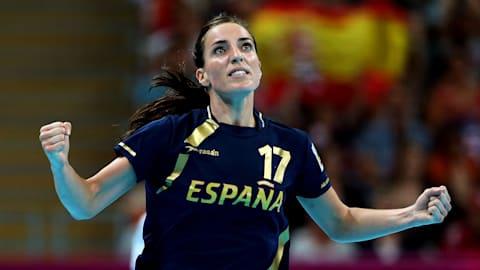 Primeira medalha olímpica do handebol feminino espanhol