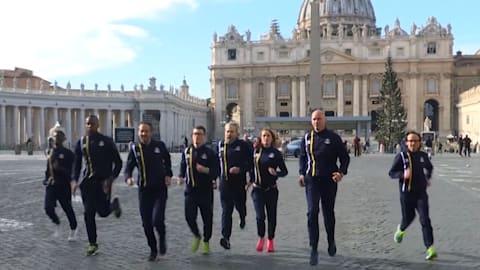 Vamos poder ver a bandeira do Vaticano nas Olimpíadas?