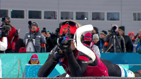 Mixed Staffel - Biathlon | PyeongChang Wiederholung