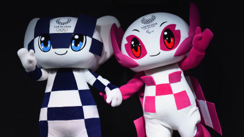 東京パラリンピック公式マスコット・ソメイティのLINE着せかえ、ついに登場