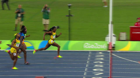 Jamaican duo take 100m Women's gold and bronze