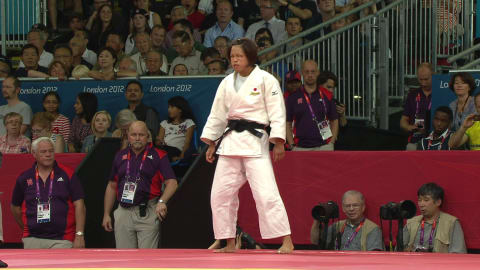 Judo @ London 2012 - Women's 57Kg Gold medal match